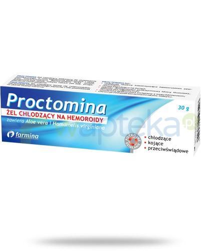 Proctomina żel chłodzący na hemoroidy 30 g