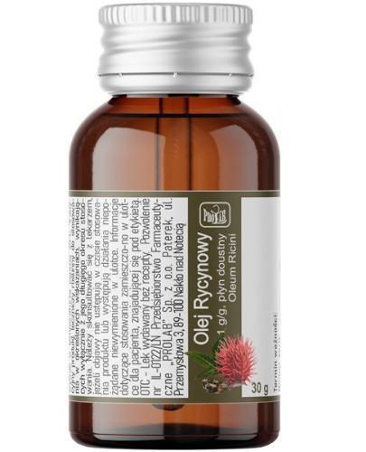 ProLab olej rycynowy 1g/g płyn doustny 30 g