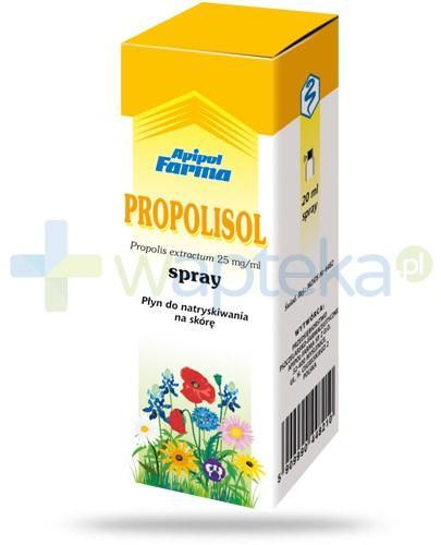 Propolisol płyn do natryskiwania na skórę 20 ml