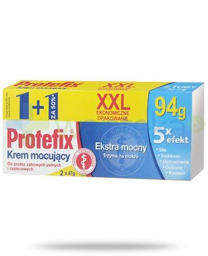 Protefix Ekstra mocny XXL krem mocujący do protez zębowych 2x 47 g