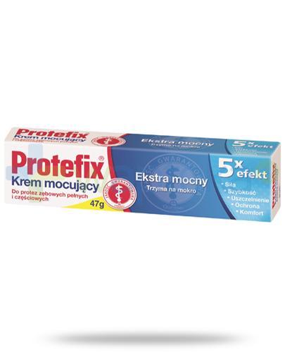 Protefix Extra mocny krem mocujacy do protez 5x efekt 47 g