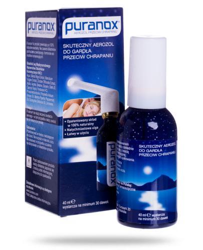 Puranox Aerozol do gardła przeciw chrapaniu 40 ml