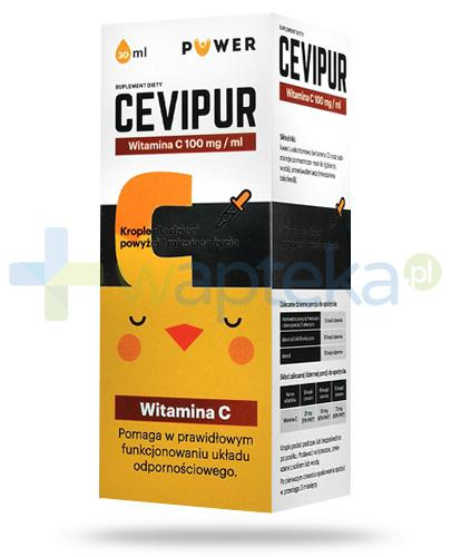 Puwer Cevipur witamina C 100mg/ml, krople 30 ml