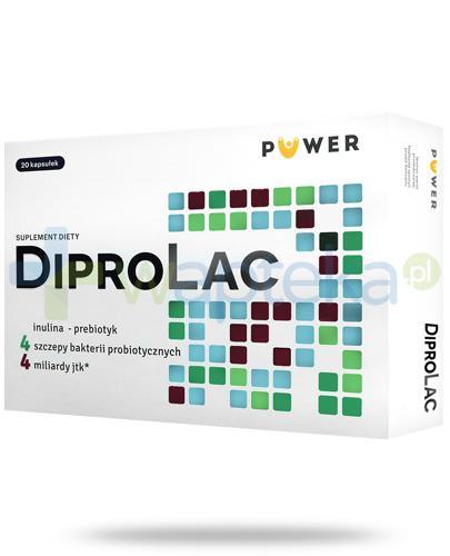 Puwer DiproLac 20 kapsułek