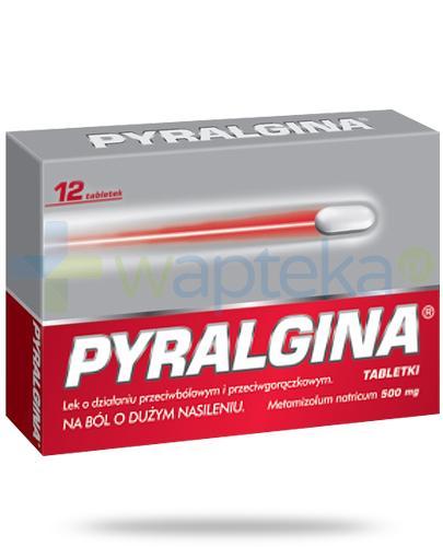 Pyralgina 500mg 12 tabletek