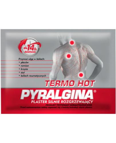 Pyralgina Thermo Hot plaster silnie rozgrzewający 1 sztuka