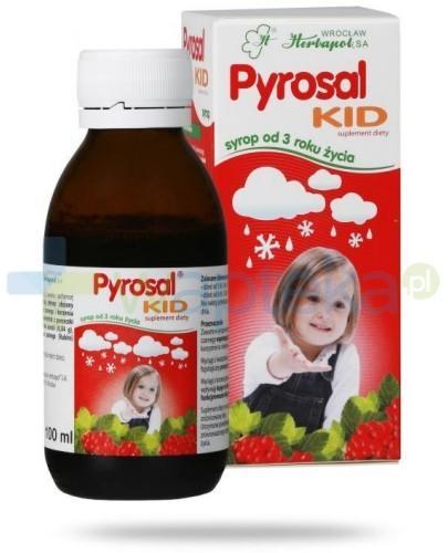 Pyrosal KID syrop 100 ml - Krótka data ważności 28-02-2017