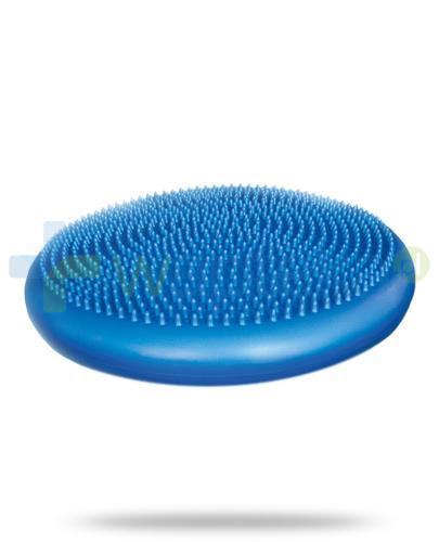 Qmed Balance Disc niebieska poduszka sensoryczna z pompką 1 sztuka