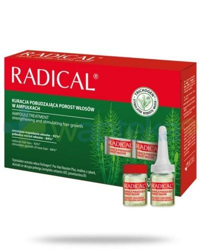 Farmona Radical Kuracja pobudzająca porost włosów w ampułkach 5 x 5ml