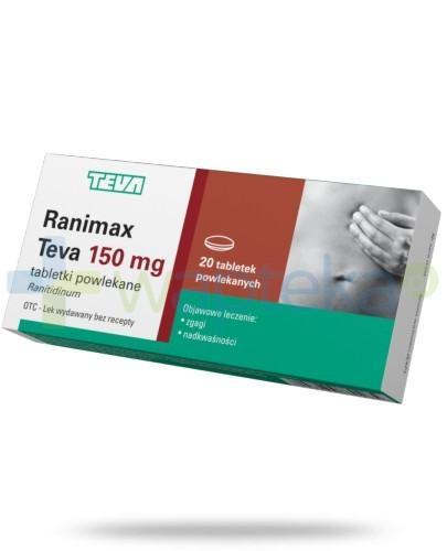 Ranimax Teva 150mg 20 tabletek