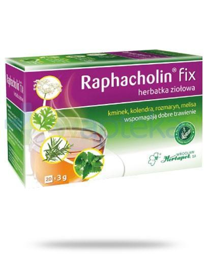 Raphacholin Fix na dobre trwienie 20 saszetek