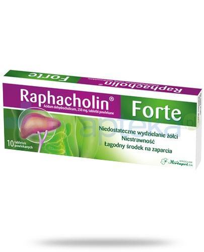 Raphacholin Forte 10 tabletek