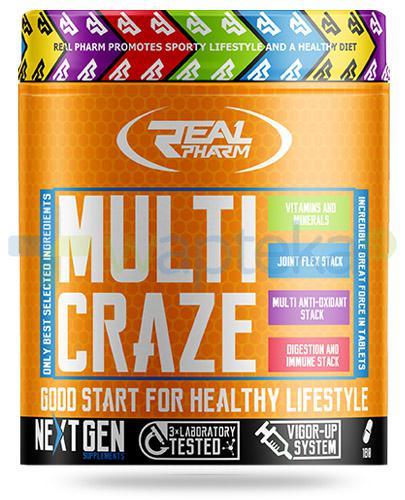 Real Pharm Multi Craze 270 tabletek