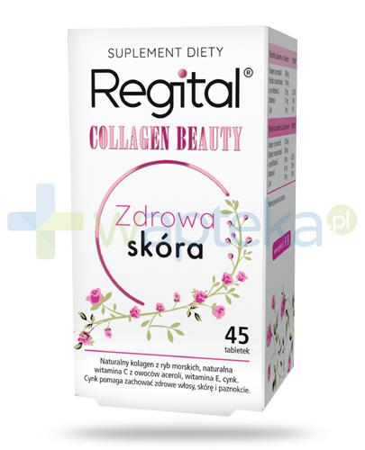 Regital Collagen Beauty Zdrowa Skóra 45 tabletek