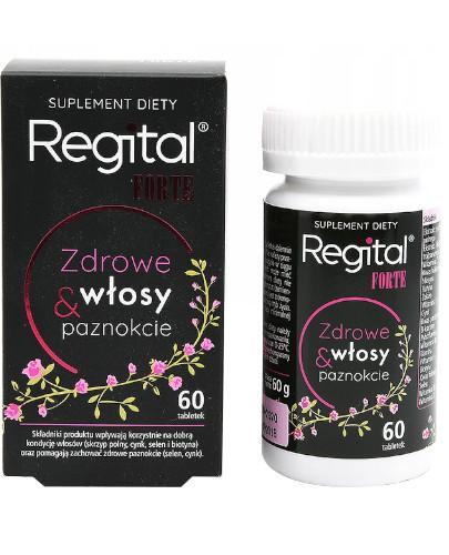 Regital Forte, Zdrowe włosy i paznockie 60 tabletek