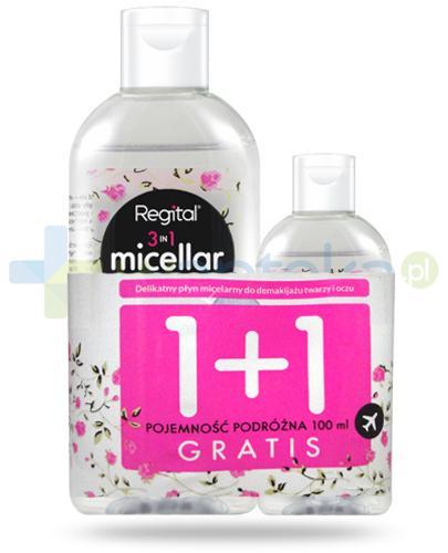 Regital płyn micelarny 3w1 400 ml + Regital płyn micelarny 3w1 100 ml [GRATIS]