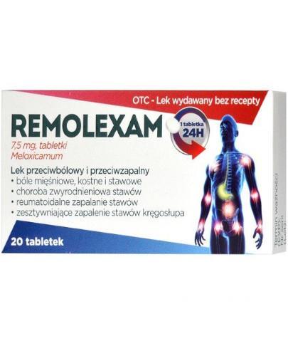 Remolexam 7,5mg 20 tabletek
