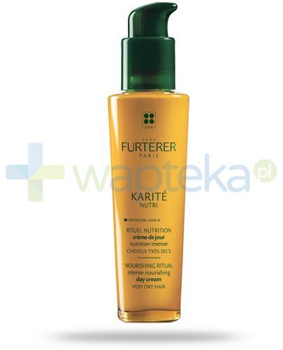 Rene Furterer Karite Nutri odżywka intensywnie odżywiająca na dzień 100 ml