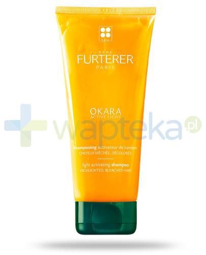 Rene Furterer Okara Active Light szampon rozświetlający z wyciągiem z miodu do włosów z pasemkami, po dekoloryzacji 200 ml