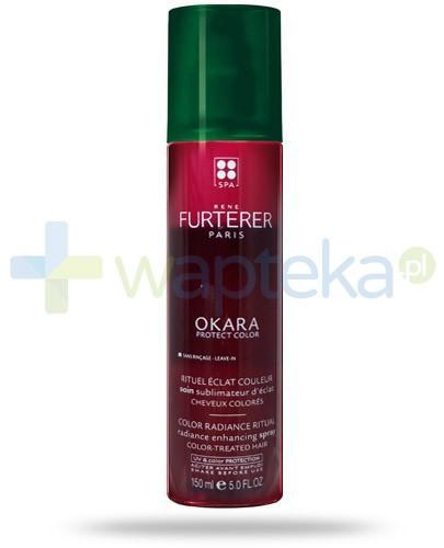 Rene Furterer Okara Protect Color odżywka wzmacniająca kolor włosów farbowanych bez spłukiwania w sprayu 150 ml
