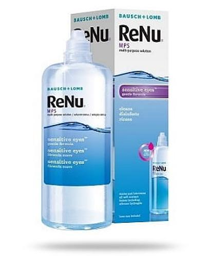 ReNu MPS Sensitive Eyes płyn do soczewek 360 ml