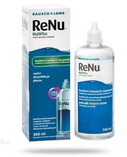 ReNu MultiPlus komfort świeżych soczewek płyn do soczewek 360 ml
