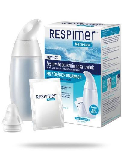 Respimer NetiFlow zestaw do płukania nosa