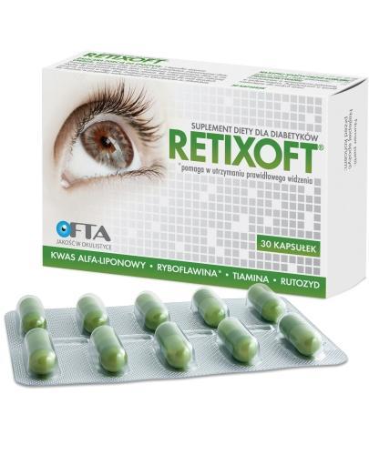 Retixoft 30 kapsułek