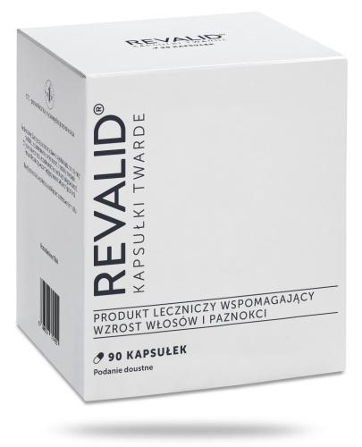 Revalid 90 kapsułek wzmacnia włosy i paznokcie