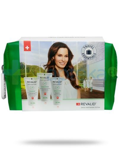 Revalid szampon z proteinami 30 ml + regenerująca odżywka do włosów 30 ml + maska regenerująca 30 ml [Zestaw]