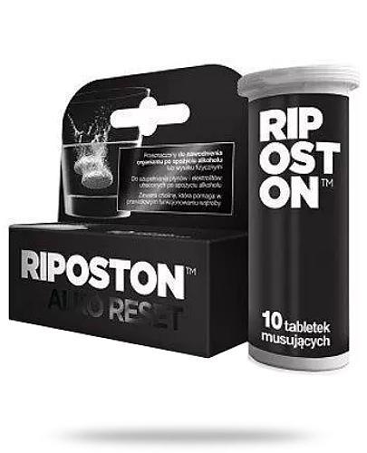 Riposton Alko Reset elektrolity o smaku pomarańczowym 10 tabletek