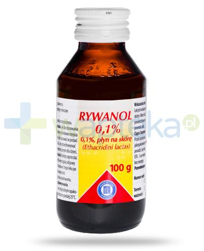 Hasco Rywanol 0,1%, płyn na skórę, 100 g
