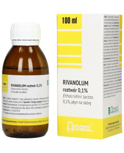 Rivanolum 0,1% roztwór 100 ml Amara