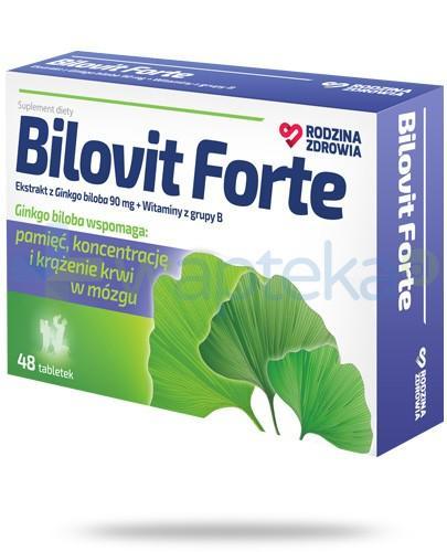 Rodzina Zdrowia Bilovit Forte 48 tabletek