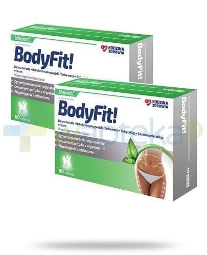 Rodzina Zdrowia ZESTAW BodyFit 2x 60 tabletek wspomaga odchudzanie