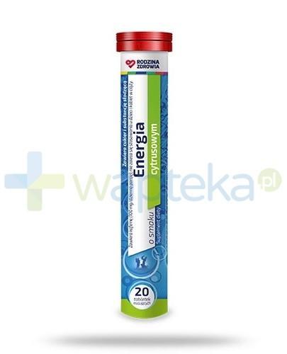 Rodzina Zdrowia Energia 20 tabletek musujących