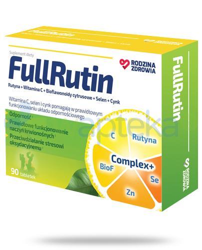 Rodzina Zdrowia FullRutin 90 tabletek