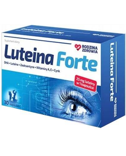 Rodzina Zdrowia Luteina Forte 30 kapsułek