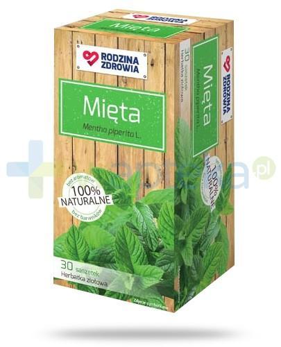 Rodzina Zdrowia Mięta herbatka ziołowa 30 saszetek