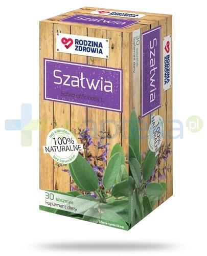 Rodzina Zdrowia Szałwia 1200mg zioła do zaparzania 30 saszetek