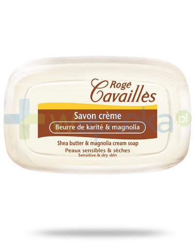Roge Cavailles kremowe mydło masło shea i magnolia 115 g