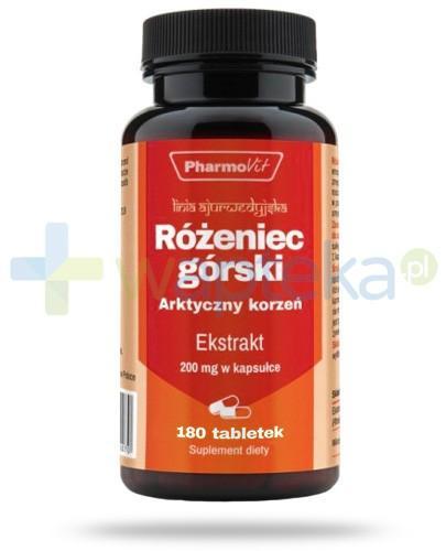 Różeniec górski ekstrakt 200mg 180 tabletek PharmoVit