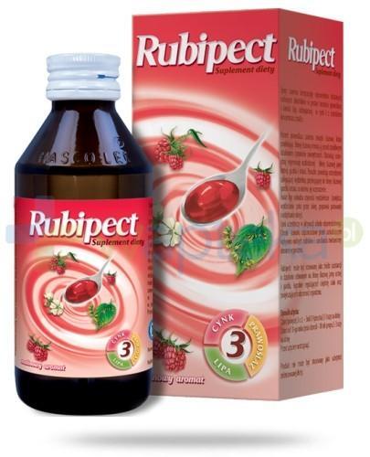 Rubipect aromat malinowy płyn 125 g