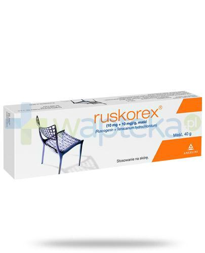 Ruskorex maść doodbytnicza 40 g