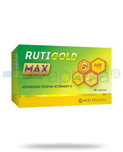 Alg Pharma Ruti Gold Max 30 tabletek