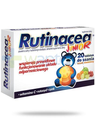 Rutinacea Junior smak owocowy 20 tabletek