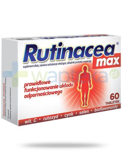 Rutinacea Max 60 tabletek