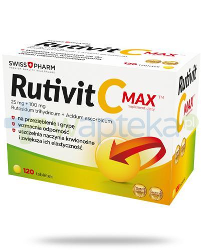 Rutivit C Max 120 tabletek