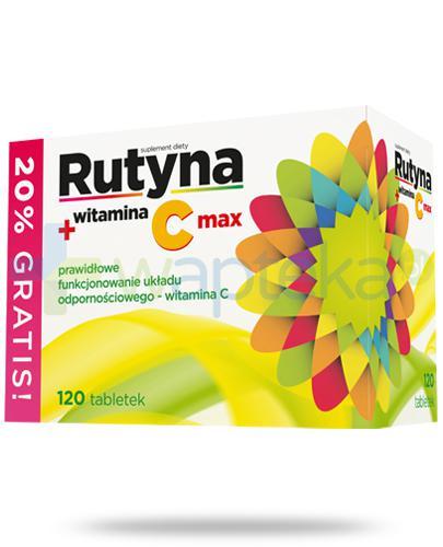 Rutyna + witamina C Max 120 tabletek