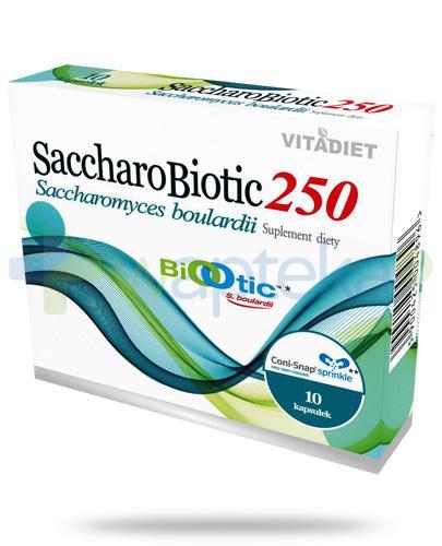 VitaDiet SaccharoBiotic250 probiotyk 10 kapsułek